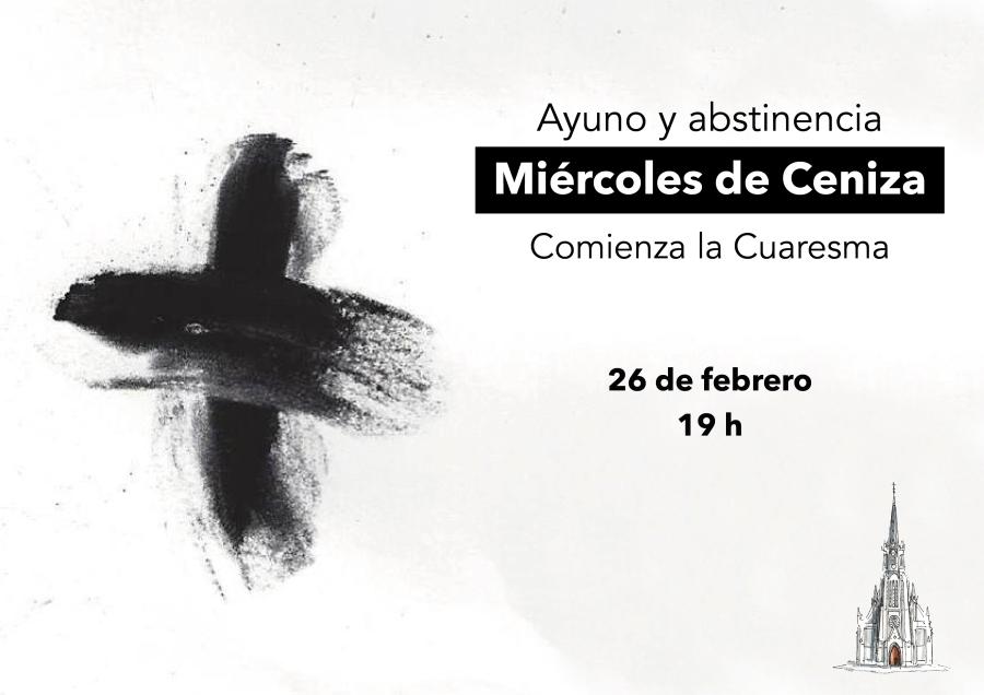 Miércoles de Ceniza 2020