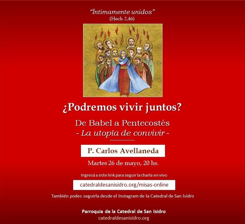 CHARLA PENTECOSTES FACEBOOK